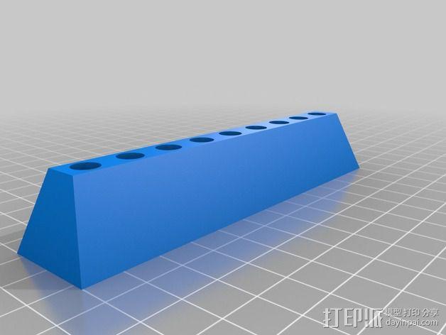 Aoyue 焊铁放置盒 3D模型  图2