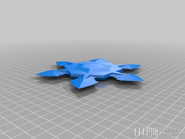 手里剑 3D模型  图5