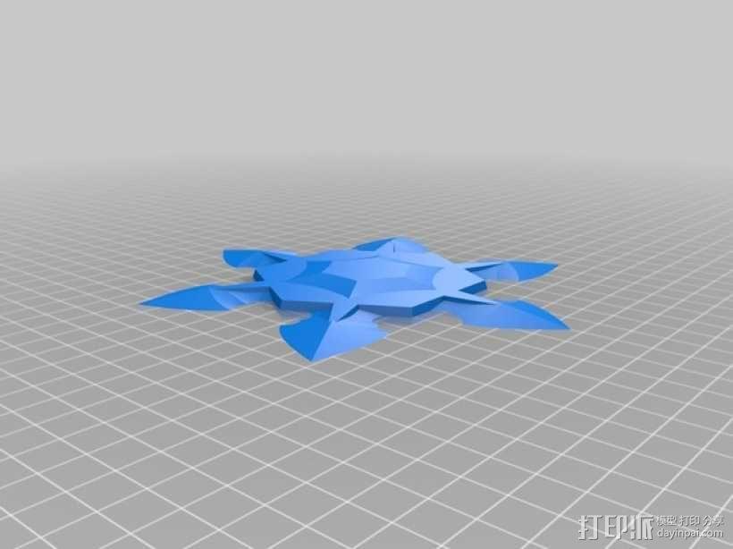 手里剑 3D模型  图6