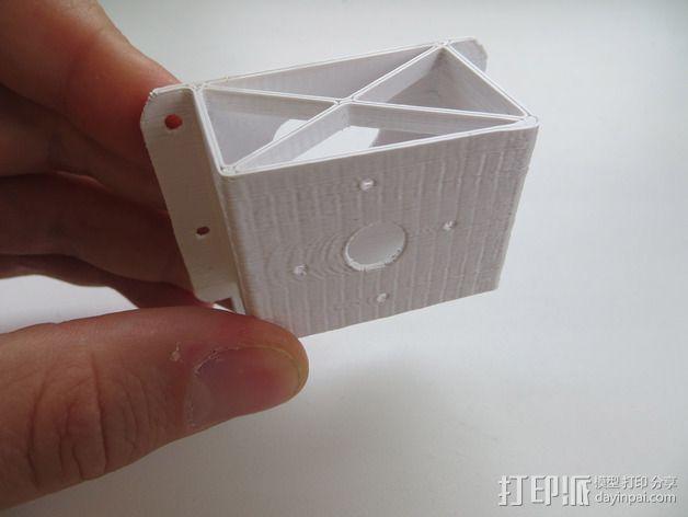 182型马达固定槽 3D模型  图3