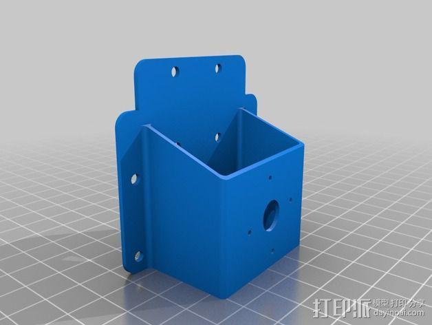 182型马达固定槽 3D模型  图4
