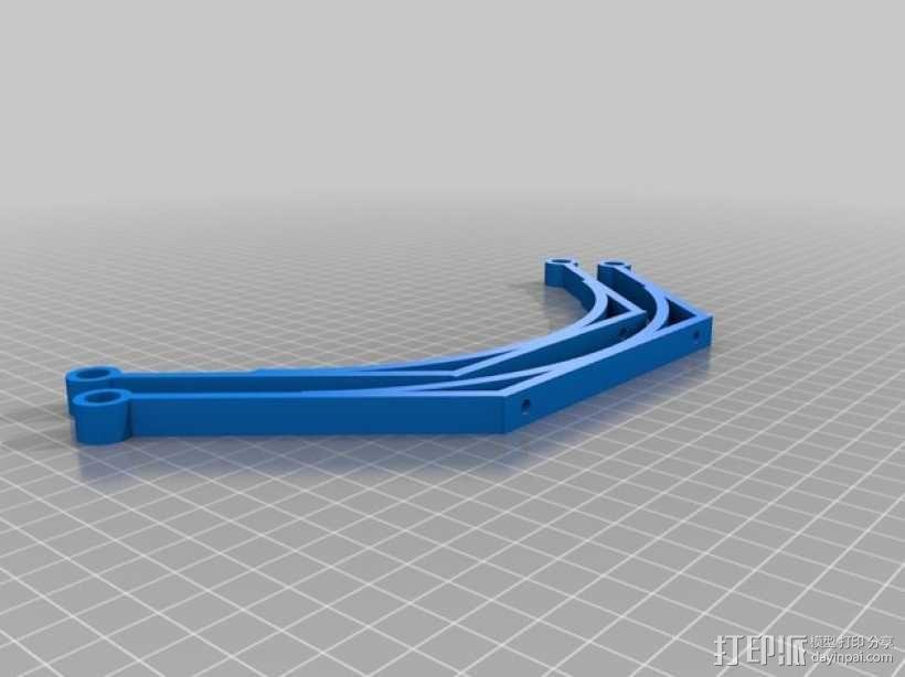 碳纤维 T4四轴飞行器 3D模型  图3