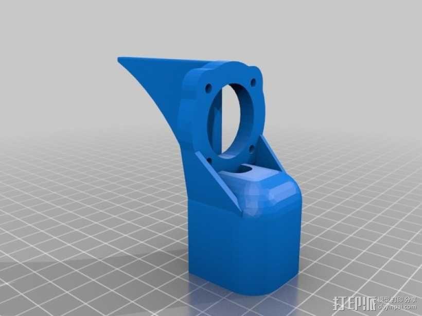 碳纤维 T4四轴飞行器 3D模型  图2