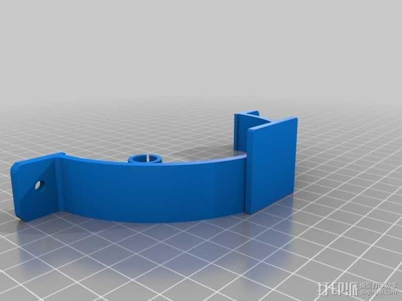 碳纤维 T4四轴飞行器 3D模型  图6