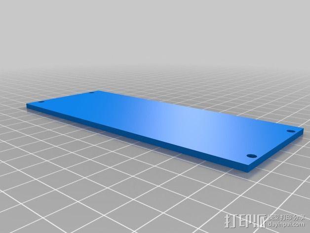 Eurorack模块合成器的模块 3D模型  图3