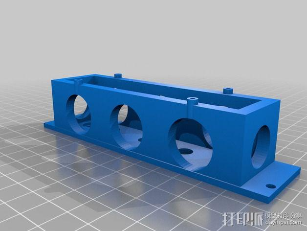 Eurorack模块合成器的模块 3D模型  图8