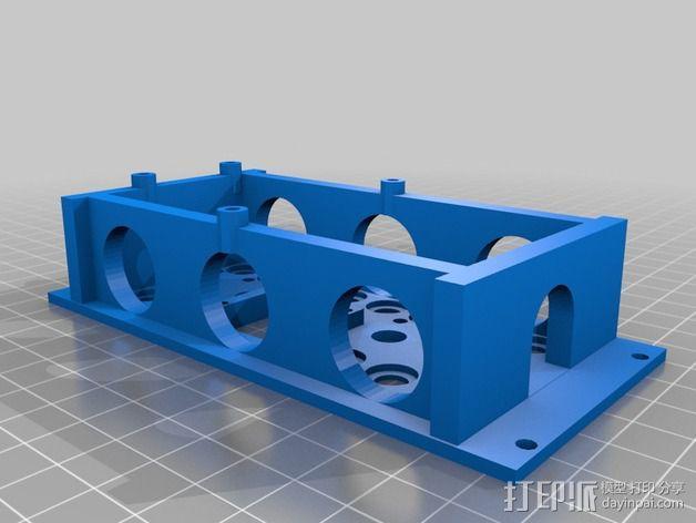 Eurorack模块合成器的模块 3D模型  图7