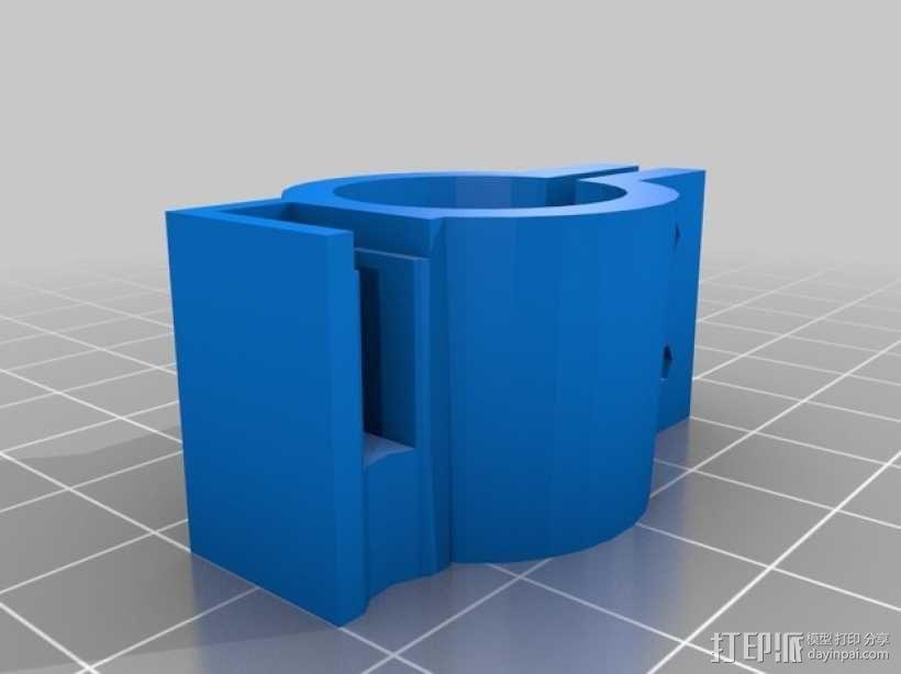 12V Lead 酸性电池绝缘端子 3D模型  图10