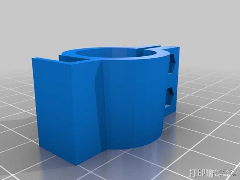 12V Lead 酸性电池绝缘端子 3D模型  图11