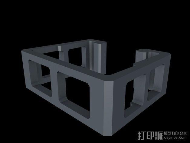 ESC固定夹 3D模型  图5