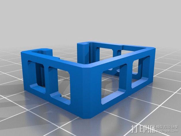 ESC固定夹 3D模型  图6