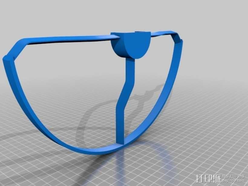 Dji Phantom Snap飞行器的螺旋桨保护架 3D模型  图2
