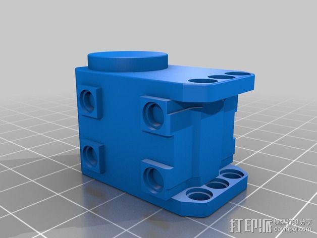 迷你DARWIN机器人 3D模型  图15