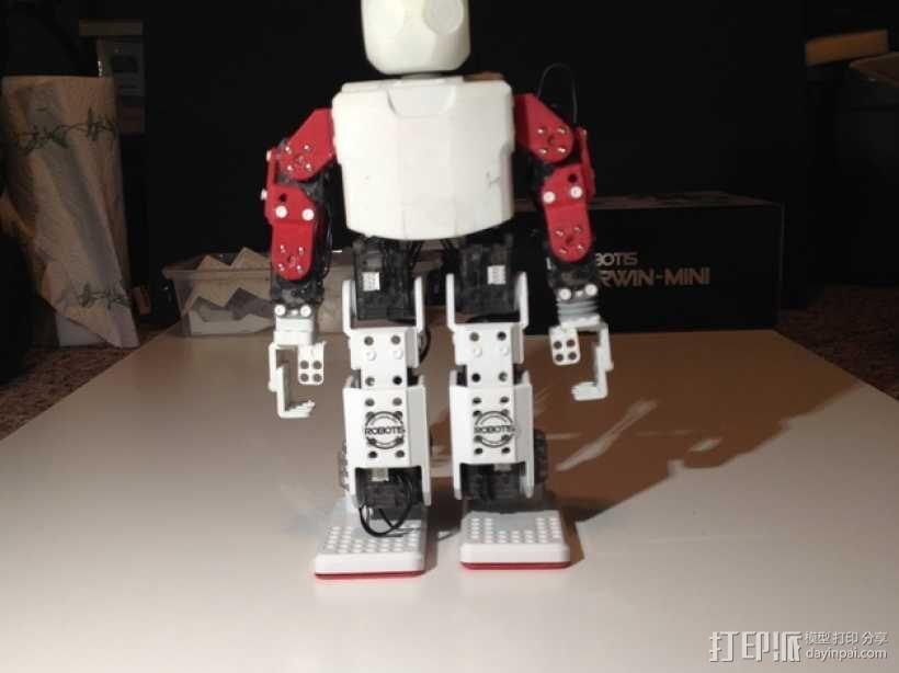 迷你DARWIN机器人 3D模型  图45