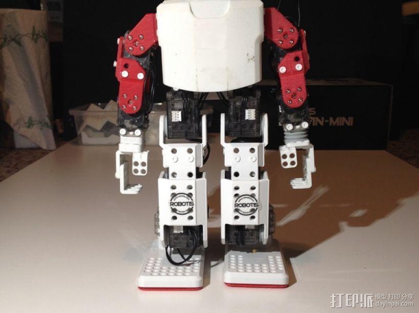 迷你DARWIN机器人 3D模型  图46