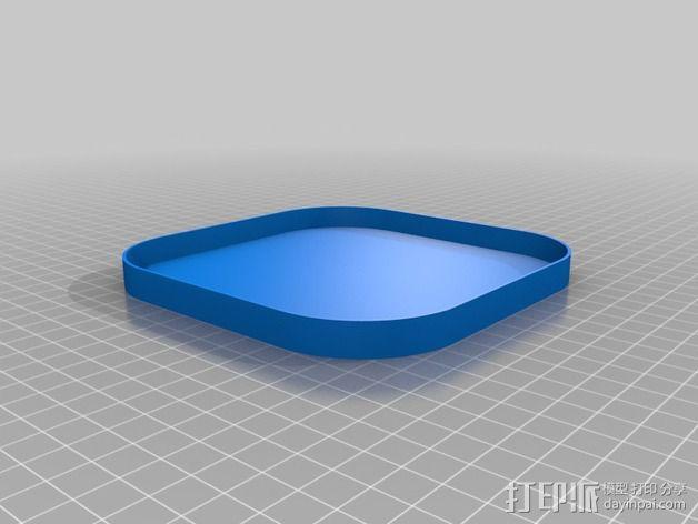 Hubsan X4四轴飞行器保护盒 3D模型  图4