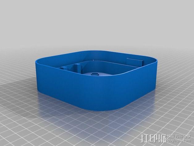 Hubsan X4四轴飞行器保护盒 3D模型  图3