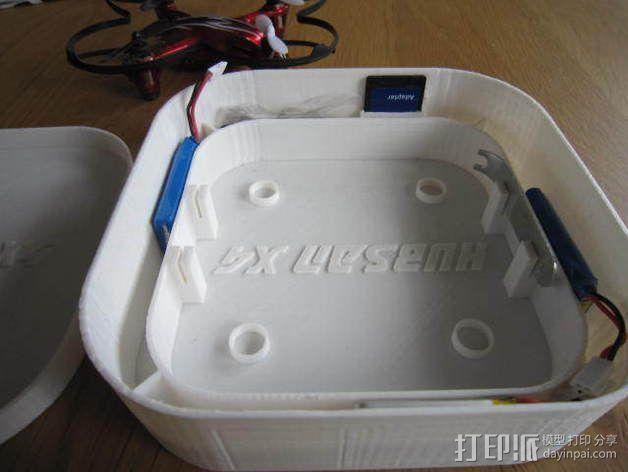 Hubsan X4四轴飞行器保护盒 3D模型  图2