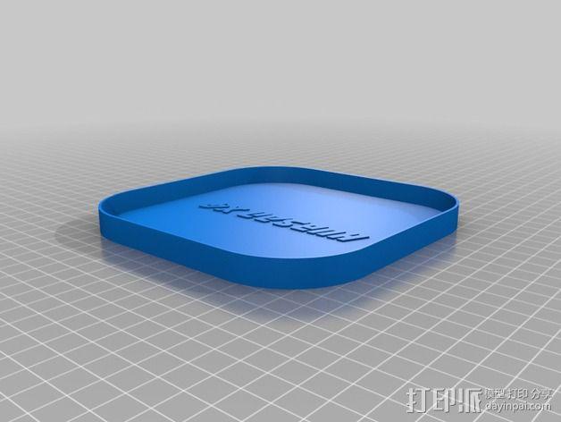 Hubsan X4四轴飞行器保护盒 3D模型  图5