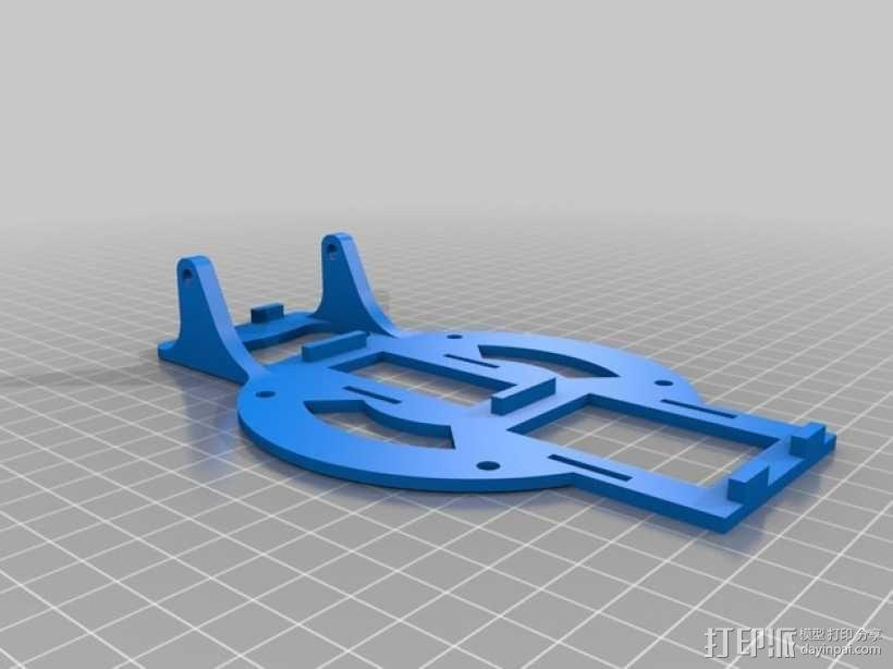 3D 打印四轴飞行器 3D模型  图2