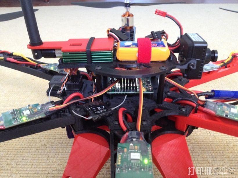 3D 打印四轴飞行器 3D模型  图6