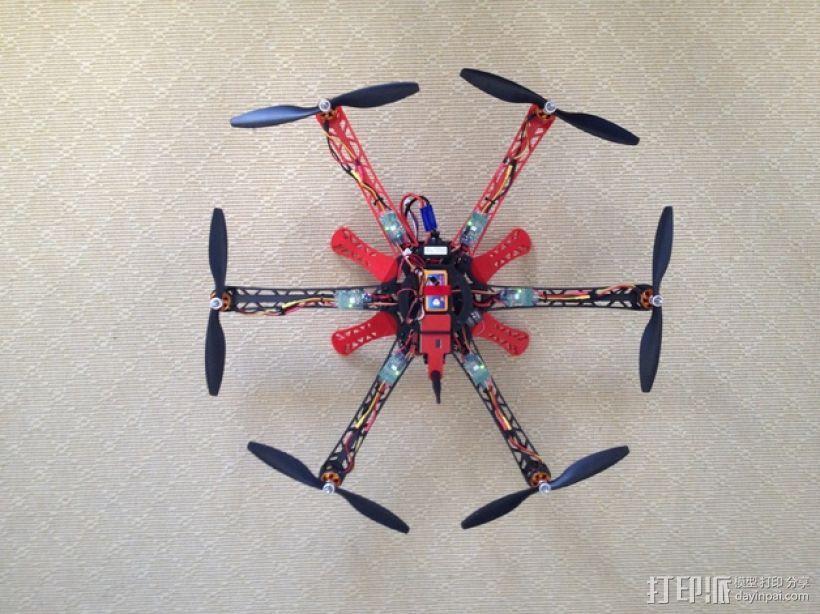 3D 打印四轴飞行器 3D模型  图7