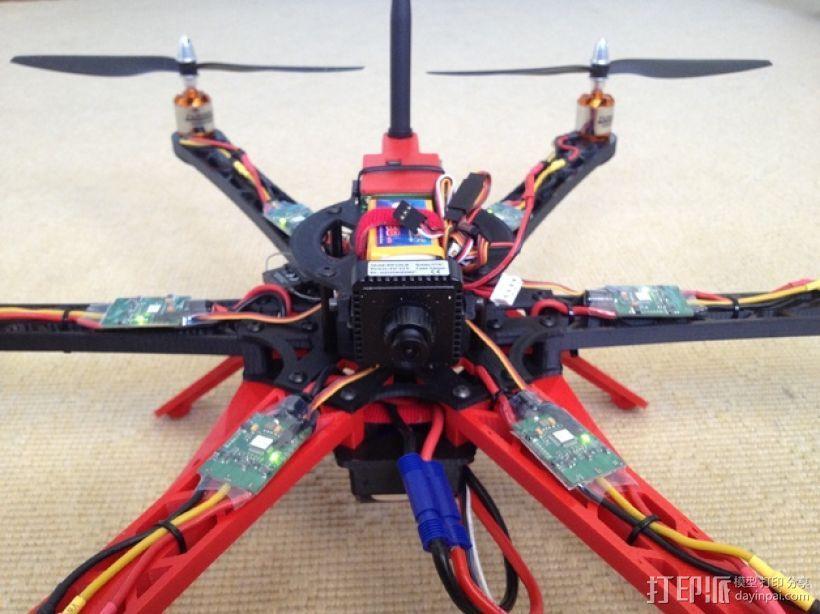 3D 打印四轴飞行器 3D模型  图8