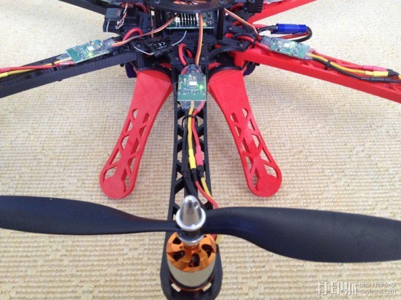 3D 打印四轴飞行器 3D模型  图9