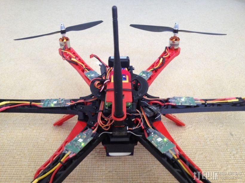 3D 打印四轴飞行器 3D模型  图12