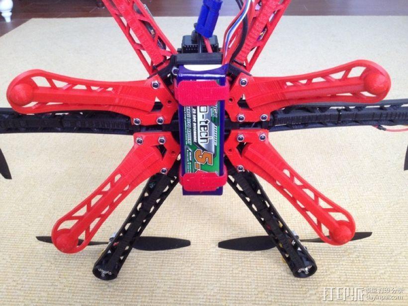 3D 打印四轴飞行器 3D模型  图10
