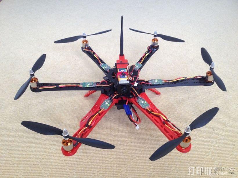 3D 打印四轴飞行器 3D模型  图11