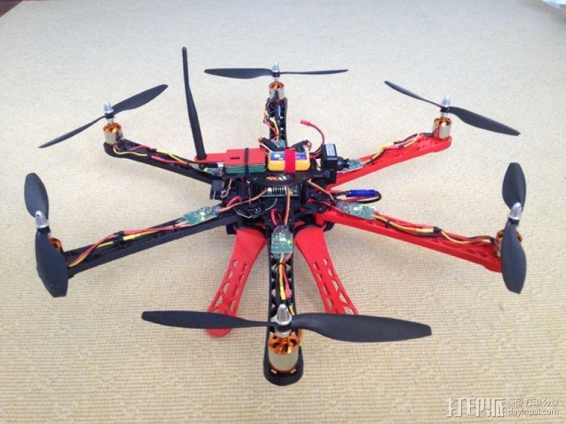 3D 打印四轴飞行器 3D模型  图13