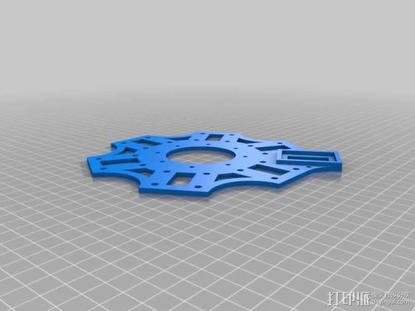 3D 打印四轴飞行器 3D模型  图17