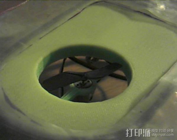 气垫船 3D模型  图3