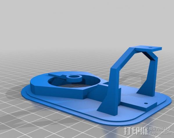 气垫船 3D模型  图8