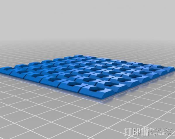 M5 T型螺母槽 3D模型  图2