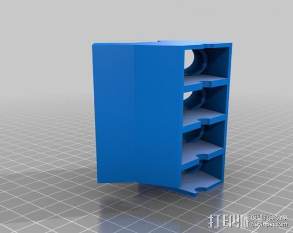 模型V8 马达 3D模型  图8
