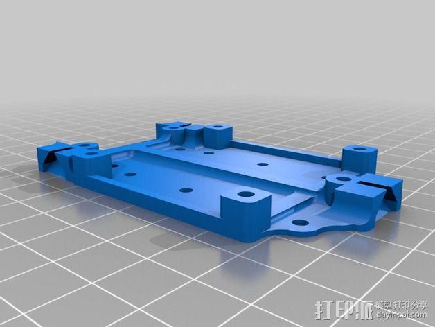 迷你T-Copter四轴飞行器 3D模型  图3