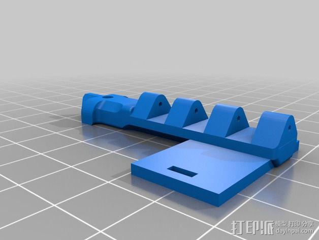 迷你T-Copter四轴飞行器 3D模型  图4
