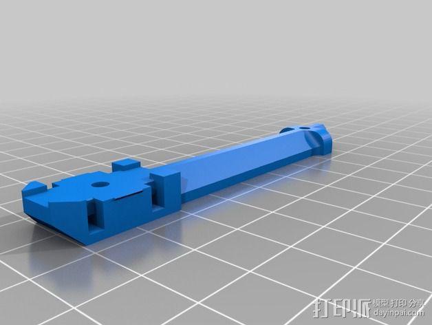 迷你T-Copter四轴飞行器 3D模型  图6