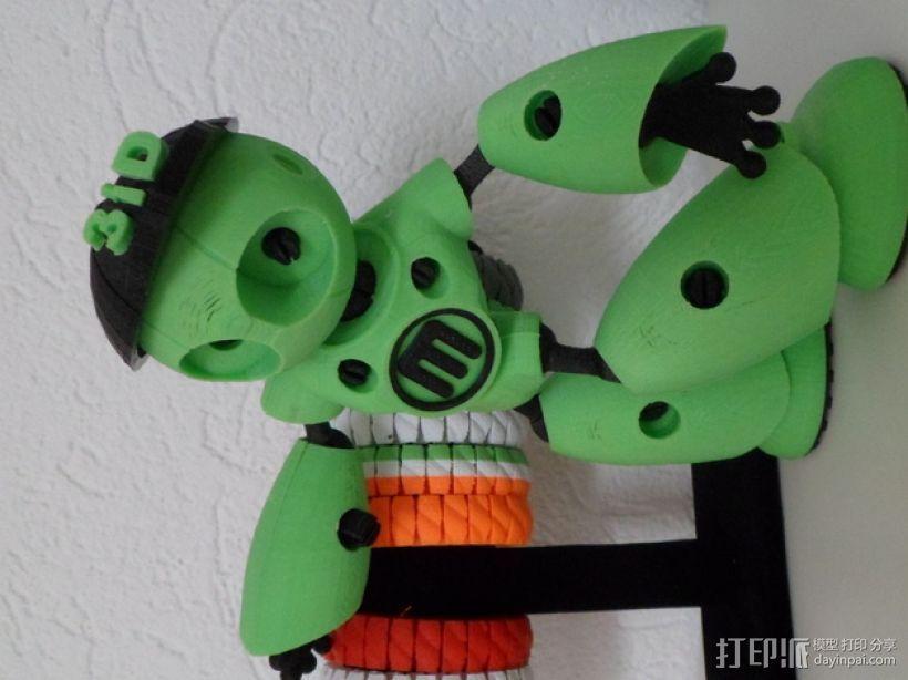 Robot Mark II的篮球帽 3D模型  图1