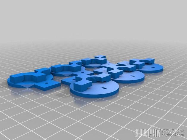 迷你无人机 3D模型  图4