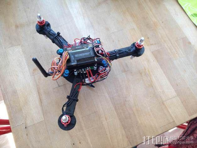 迷你无人机 3D模型  图2