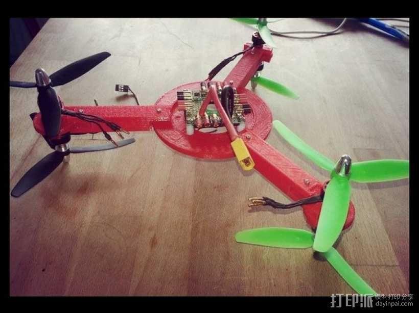 迷你无人机 3D模型  图10