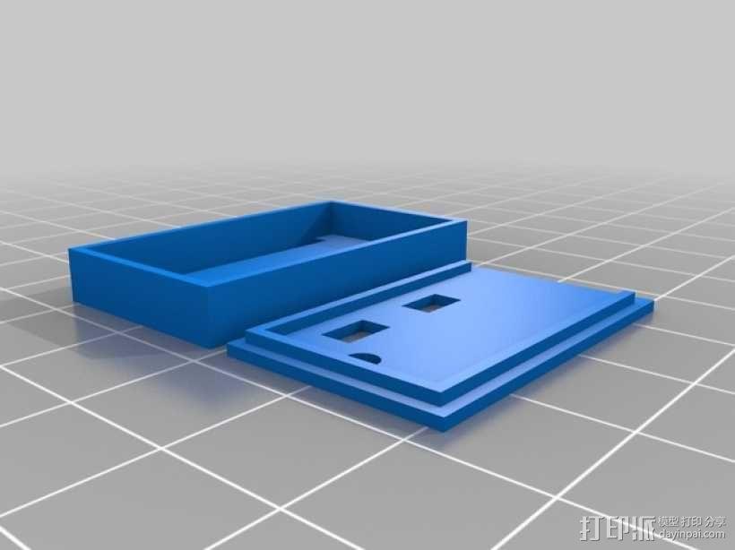 迷你盒 3D模型  图1