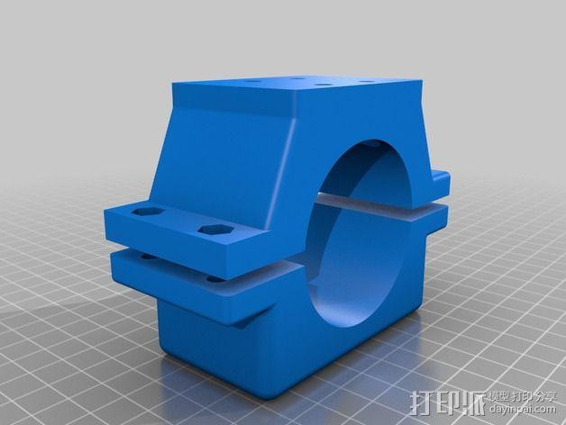 Shapeoko 2主轴固定夹 3D模型  图1