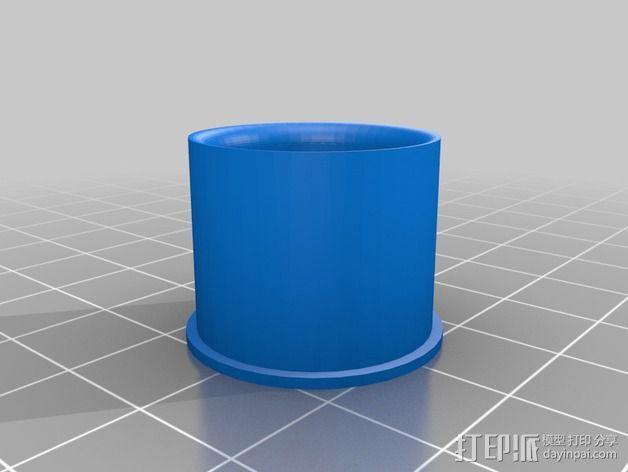 1:24攀岩车轮胎 3D模型  图2