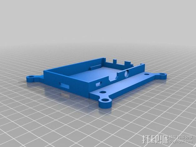 Raspberry Pi B+外壳 3D模型  图2