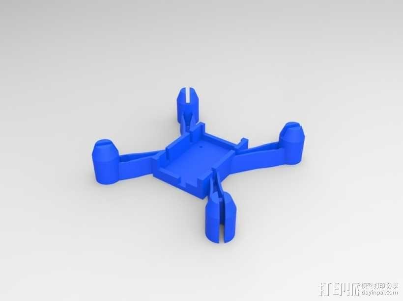 更小的hubsan x4机身 3D模型  图1