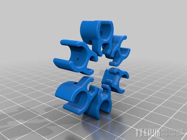 迷你六轴飞行器 3D模型  图2